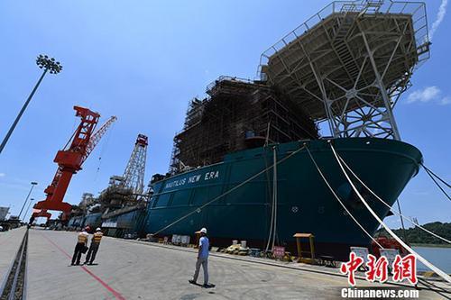 韩国船企7月接单量继续位居全球第一