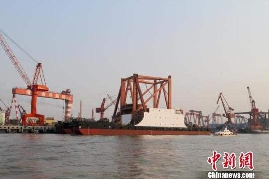 黄埔文冲中标新型地球物理综合科学考察船