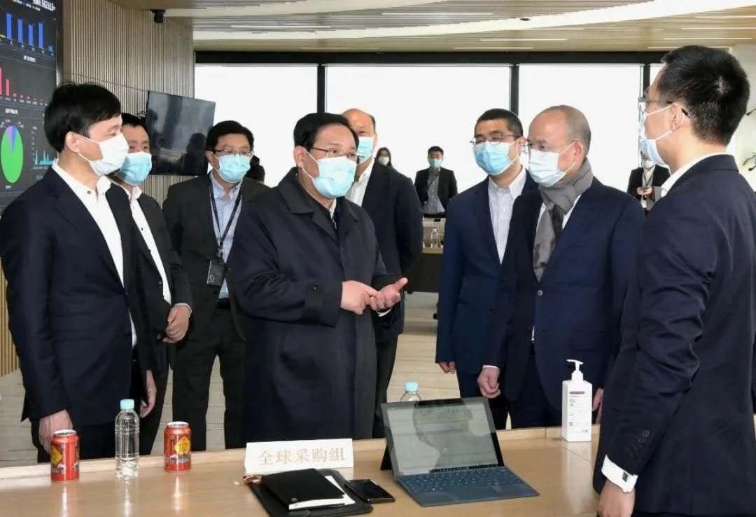 李强听取上海钢联&钢银电商复工复产专报